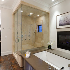 rustic bathroom by Forum Phi