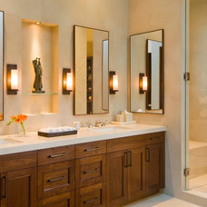 Transitional Bathroom by Forum Phi - Architecture | Interiors | Planning