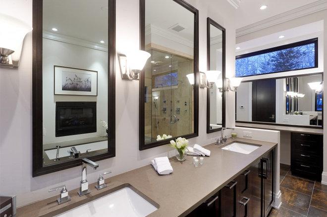 Rustic Bathroom by Forum Phi - Architecture   Interiors   Planning
