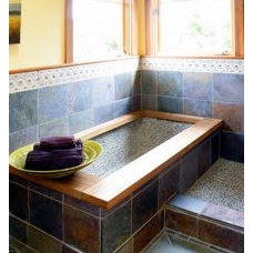 Traditional Bathroom by Gardens & Gables