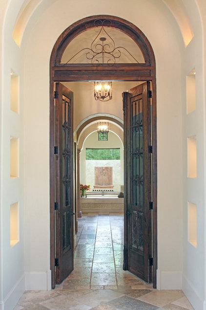 Mediterranean Bathroom by Garrity Design Group