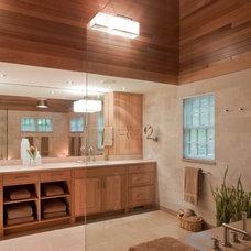 Contemporary Bathroom by Giambastiani Design