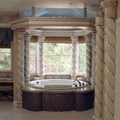 traditional bathroom by Glenn Robert Lym Architect