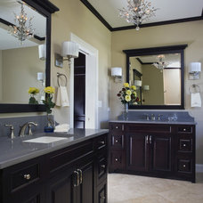 Traditional Bathroom by Great Rooms Designers & Builders