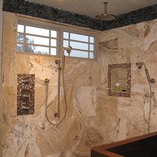 Asian Bathroom by Grif Wood Designs