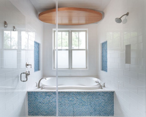 Whirlpool Tile Surround Tub | Houzz
