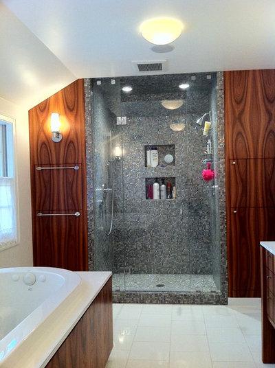 Contemporary Bathroom by Helios Design Group