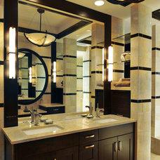 Modern Bathroom by Hermitage Kitchen Design Gallery