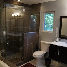 Contemporary Bathroom Master Bath