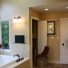 traditional bathroom by Serena Ludovico, ASID, CID