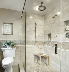 traditional bathroom by Insignia Kitchen and Bath