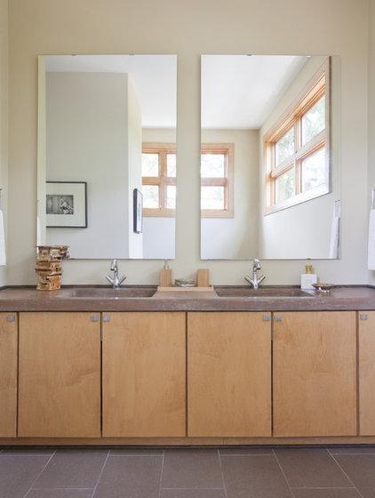 Contemporary Bathroom by j witzel interior design