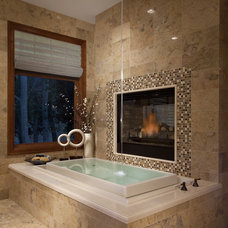 modern bathroom by Joe Carrick Design - Custom Home Design