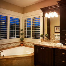 Traditional Bathroom by Joe Carrick Design - Custom Home Design