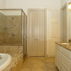 Traditional Bathroom by JLD Custom Homes