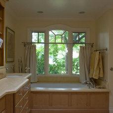 Traditional Bathroom by Jochum Architects