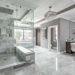 Très grandes salles de bains et WC modernes : Photos et idées déco ...