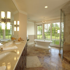 Traditional Bathroom by John Kraemer & Sons