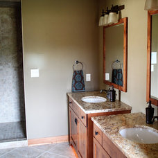 Traditional Bathroom by K Architectural Design, LLC