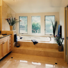 Contemporary Bathroom by Kaplan Architects, AIA