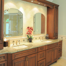Traditional Bathroom by KAS Interiors, LLC
