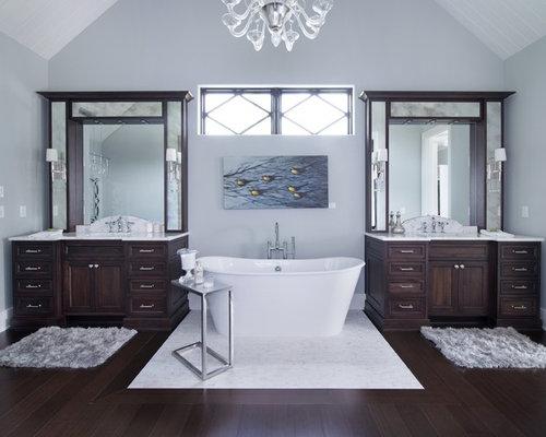 Houzz Bathroom With Bamboo Floors Design Ideas Amp Remodel