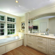 Traditional Bathroom by Kitchen Views