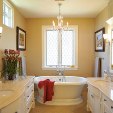 Traditional Bathroom by Laurie Plattes