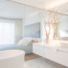 Contemporary Bathroom by Leslie Goodwin Photography