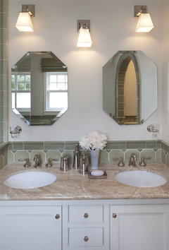 Small Bathroom: Mirror selection - Covering Wall or 2 ...