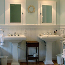 Traditional Bathroom by Lisa Morris by Design