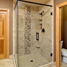 Eclectic Bathroom by LORI HANDBERG-MARTHA O'HARA INTERIORS