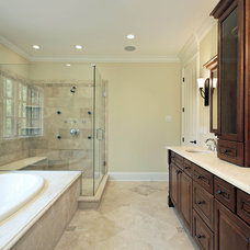 Traditional Bathroom by Mandy Brown