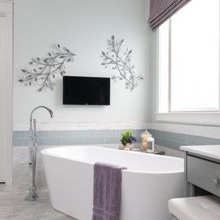 Master Bath Marble Love