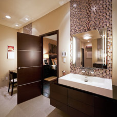Contemporary Bathroom by Maureen Mahon
