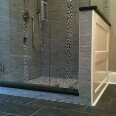 Modern Bathroom by McMillan Build & Remodel Inc.