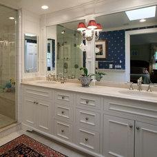 Traditional Bathroom by Michael Sisti
