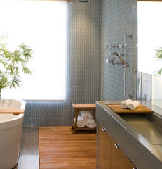 modern bathroom by modern house architects