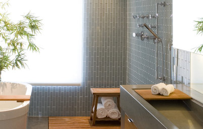 18 Knockout Ideas for Wooden Floor Showers