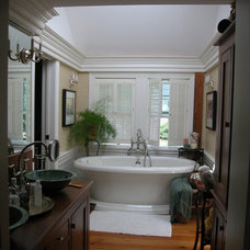 Traditional Bathroom by Moran + Associates