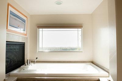 Craftsman Bathroom by Moss Yaw Design studio