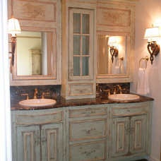 Traditional Bathroom by Nancy Evans, Allied ASID