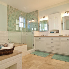 beach style bathroom by Natalie DiSalvo