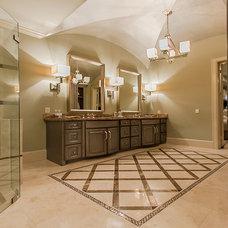 Traditional Bathroom by Sweetlake Interior Design LLC