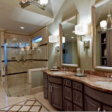 Transitional Bathroom by Sweetlake Interior Design LLC
