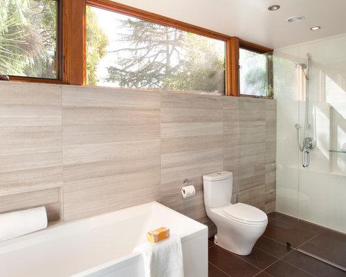 Daltile chenille white limestone ideas pictures remodel for Daltile bathroom tile designs