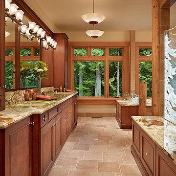 Master Bath of Cedar Haven Home