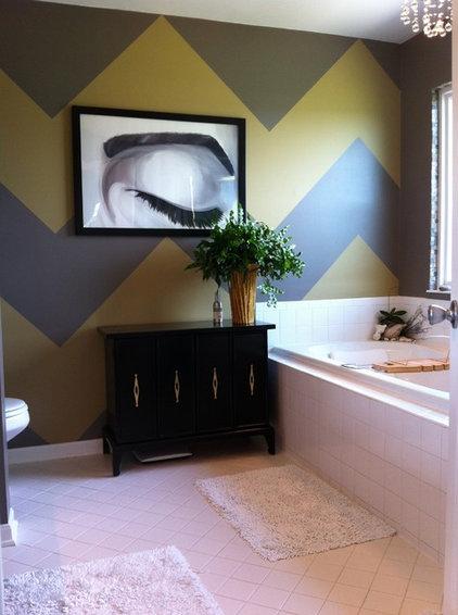 Contemporary Bathroom by Home Girl Decor