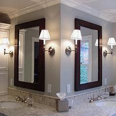 Traditional Bathroom by Victoria Reginato CKD