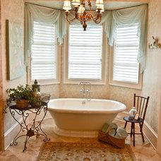 Traditional Bathroom by Pam Adams